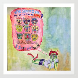 Sadie Hawkins Art Print