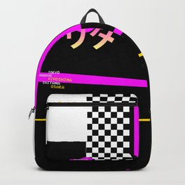Graphic Over Tee ONLY Retro Japanese Backpack