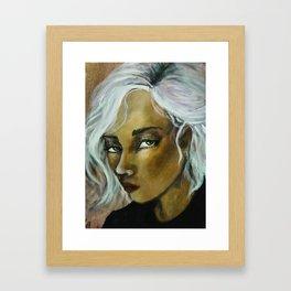 Jinx (Girl Portrait) Framed Art Print
