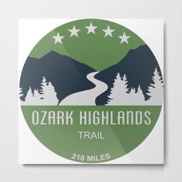 Ozark Highlands Trail Metal Print