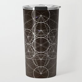 Metatrons Cube Is Out Of Space Travel Mug