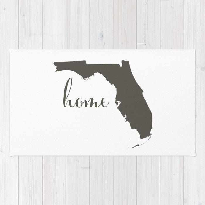 Florida is Home Rug