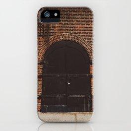 Brooklyn Door III iPhone Case