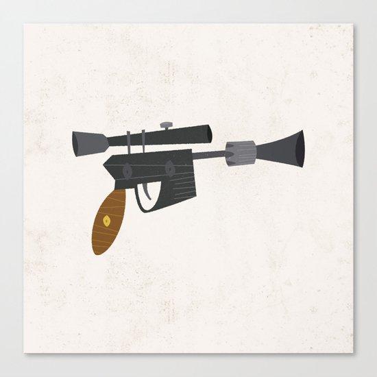DL-44 Heavy Blaster Pistol Canvas Print