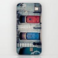 doors iPhone & iPod Skins featuring The Doors by unaciertamirada