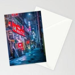 Heavy rain over Tokyo Stationery Cards