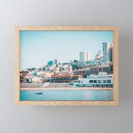 Ghirardelli Sign in San Francisco Fine Art Print  • Travel Photography • Wall Art Framed Mini Art Print
