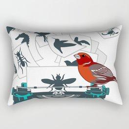 Alphabet of Life Rectangular Pillow