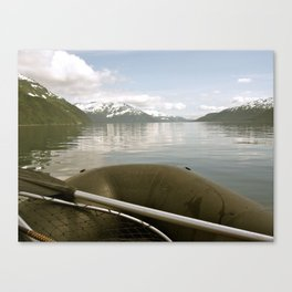 Whittier, Alaska Canvas Print