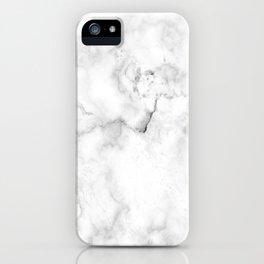 White marble decor | Marble stone | Marble design | White furniture iPhone Case