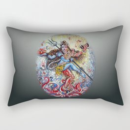 Shiva Shakti Rectangular Pillow