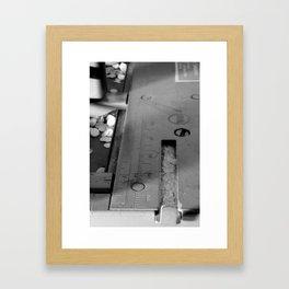 Look closer Framed Art Print