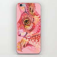 squirrel iPhone & iPod Skins featuring The squirrel magic  by Ola Liola
