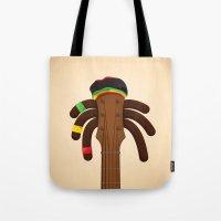 reggae Tote Bags featuring Reggae by Emir Simsek