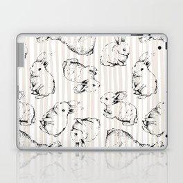 Vintage Bunnies Laptop & iPad Skin