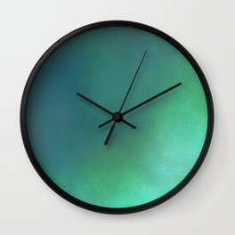Abstract noise green Wall Clock