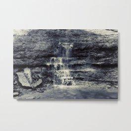 Small Falls at Bridal Veil Metal Print