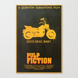 Zed's Dead Baby - Pulp Fiction Poster Canvas Print
