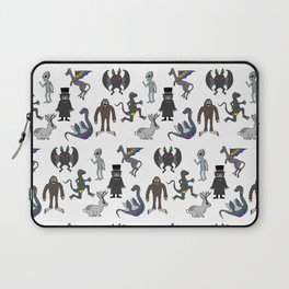 Cryptid Friends Laptop Sleeve
