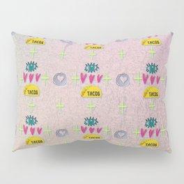 Eye Love Tacos Pillow Sham