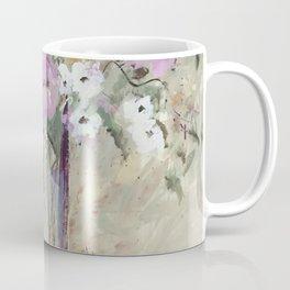January Floral Coffee Mug