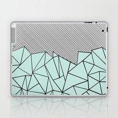 Ab Lines 45 Mint Laptop & iPad Skin