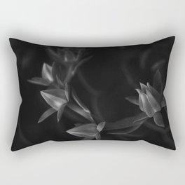 Petals | Flowers | Dark flowers | Gothic Decor | elegant goth Rectangular Pillow