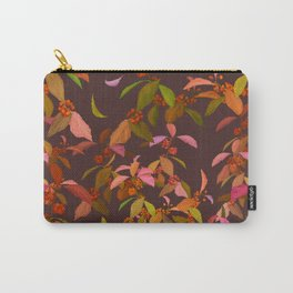 Beautyberry on Purple Carry-All Pouch
