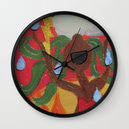 Singing Tree Wall Clock