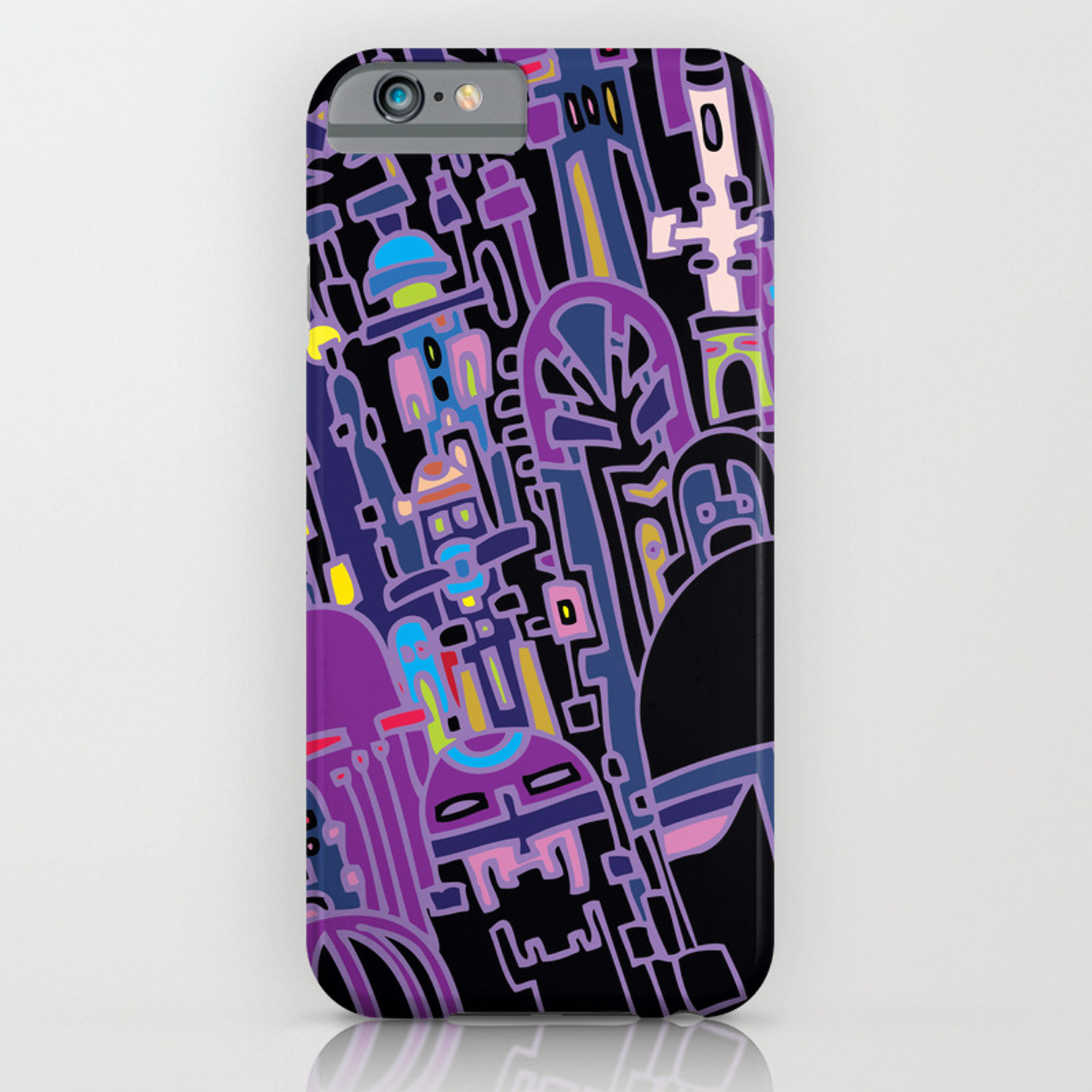 68c493eb974 SILICON VALLEY HIGH iPhone Case by larsonlarson | Society6