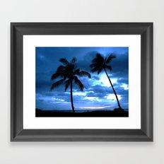 Palms of Hawaii Framed Art Print