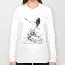 asc 156 - La flèche noire Long Sleeve T-shirt