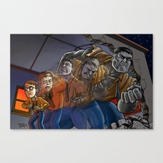 Enter The Hulk! Canvas Print