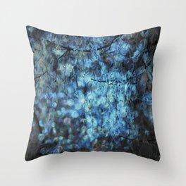 MIDNIGHT SPARKLES Throw Pillow