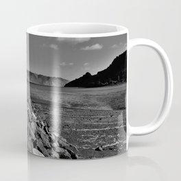 Sea wall of rocks and stones Coffee Mug