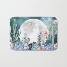 Desert Nights Gemstone Oasis Moon Bath Mat