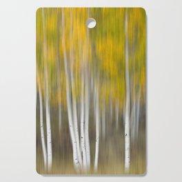 Autumn Was A Blur Cutting Board