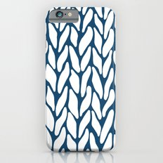 Hand Knitted Navy iPhone 6s Slim Case