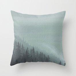 Forest 1 Throw Pillow