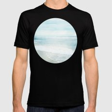 Feel the Sea Mens Fitted Tee MEDIUM Black