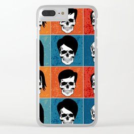 Hairstyles for Skulls Clear iPhone Case