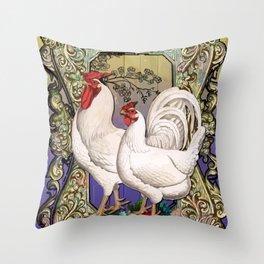 Provencal cock 3 Throw Pillow