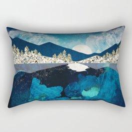 Midnight Water Rectangular Pillow