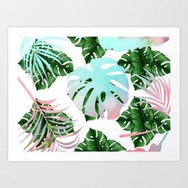 Tropical Mint Art Print