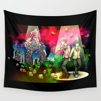 games Wall Tapestries featuring Mind Games by Subsea