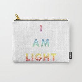 I AM LIGHT Carry-All Pouch