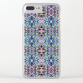 Techno Tribal Clear iPhone Case