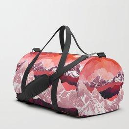 Scarlet Glow Duffle Bag