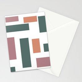 Color Blocks Stationery Cards