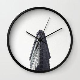 New York Flatiron Building Wall Clock